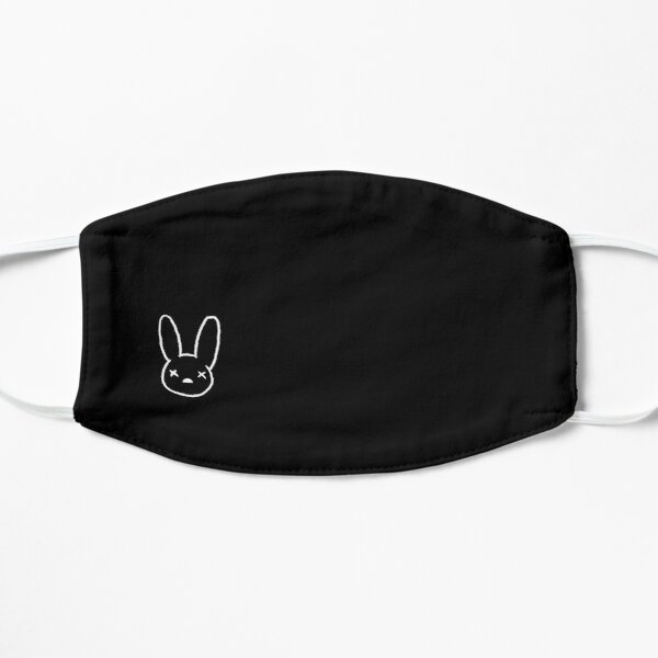 Dead Bad Bunny  Flat Mask RB3107 product Offical Bad Bunny Merch