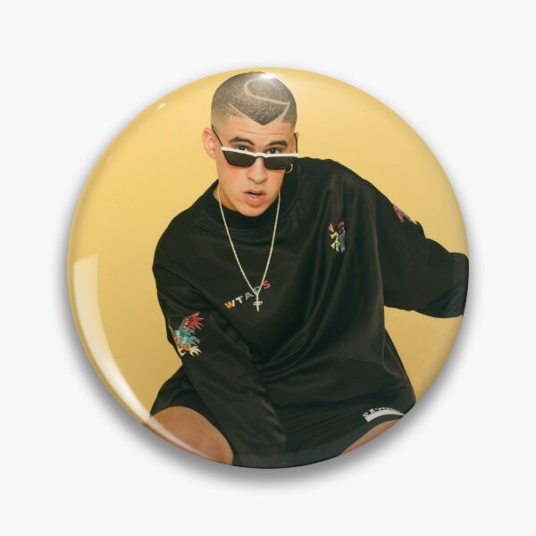 Bad Bunny Shoot Pin RB3107 product Offical Bad Bunny Merch