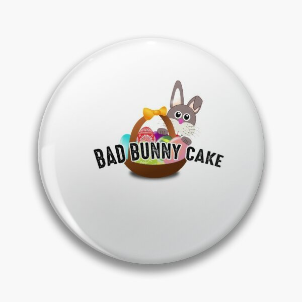 Bad Bunny Cake Pin RB3107 product Offical Bad Bunny Merch