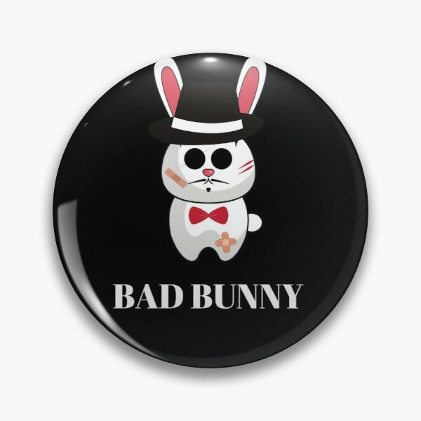 Bad bunny mafia Pin RB3107 product Offical Bad Bunny Merch