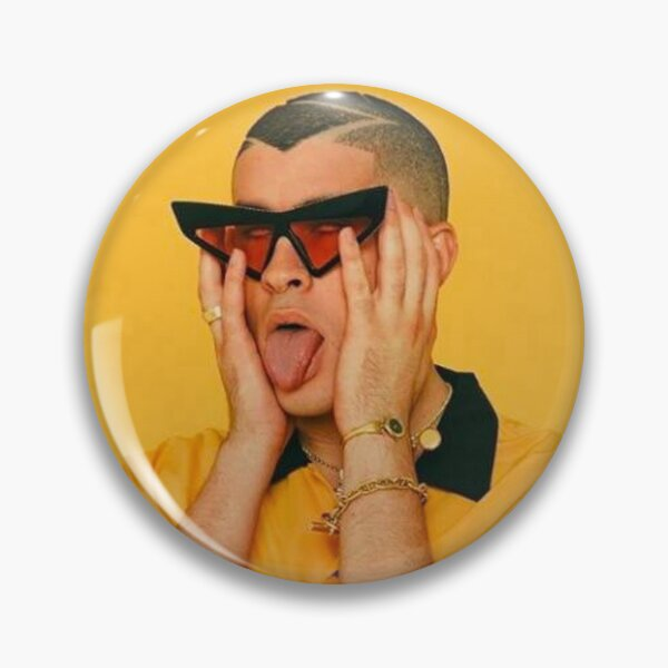 Bad Bunny Poster Pin RB3107 product Offical Bad Bunny Merch