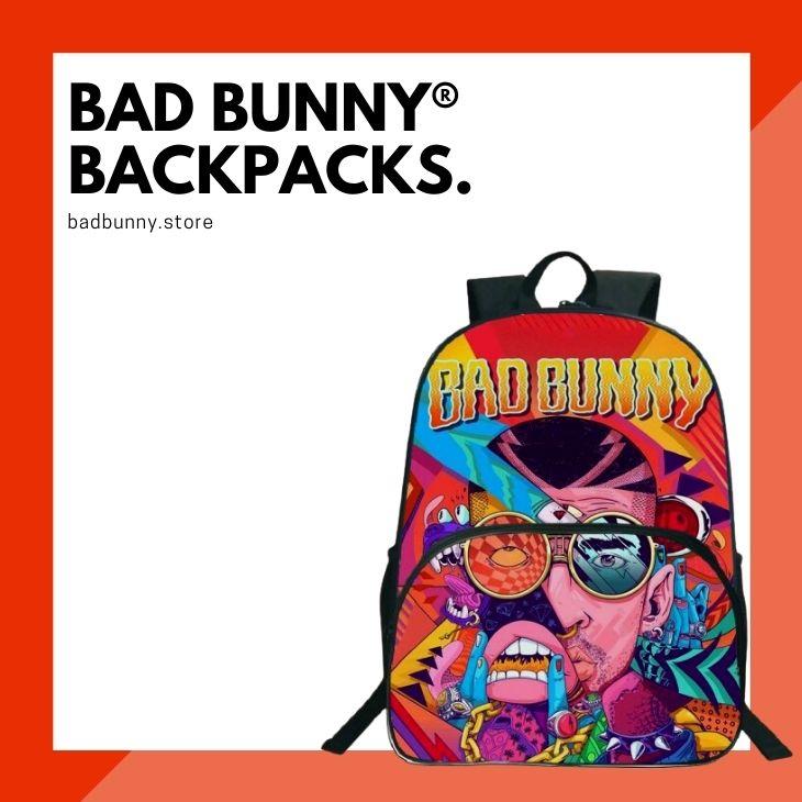 Bad Bunny Backpacks