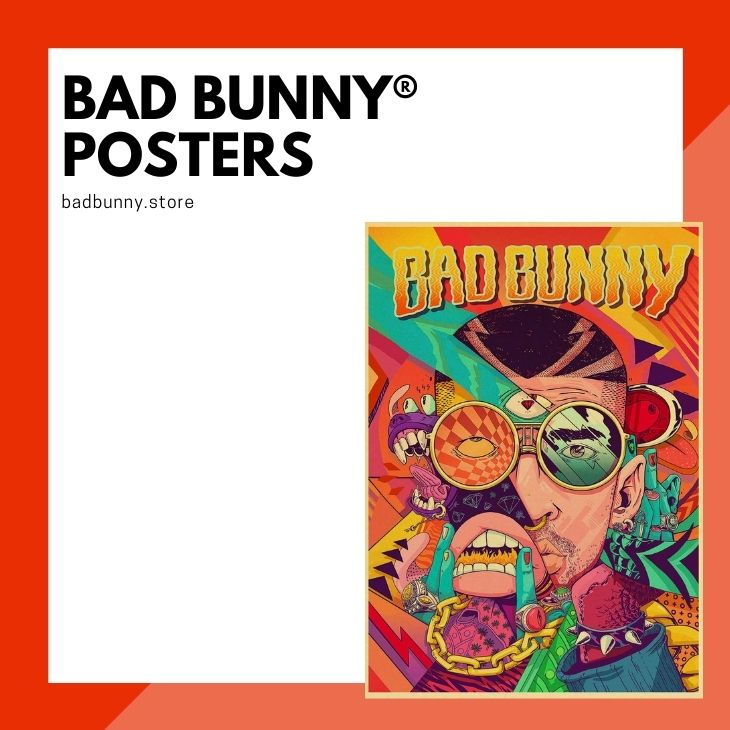 Bad Bunny Posters