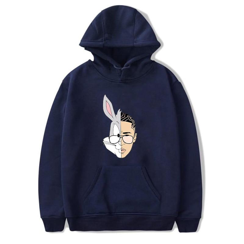 bad bunny bunny logo hoodie bbm0108 4334 - Bad Bunny Store
