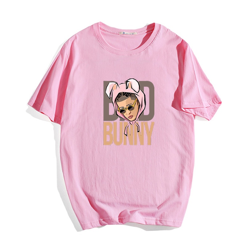 bad bunny essential t shirt bbm0108 4345 - Bad Bunny Store