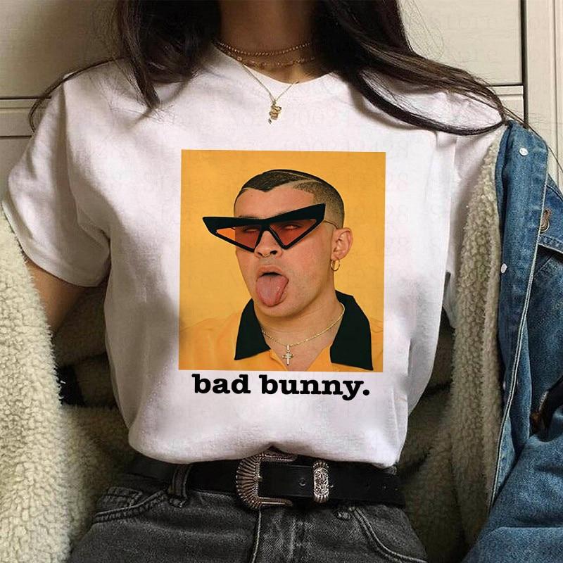 bad bunny face t shirt bbm0108 2812 - Bad Bunny Store