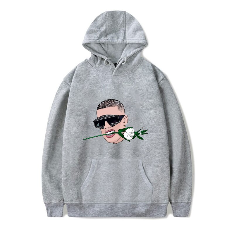 bad bunny flower hoodie bbm0108 4055 - Bad Bunny Store