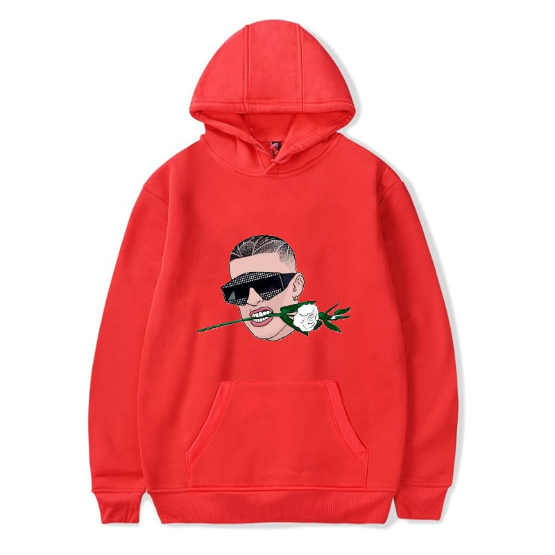 bad bunny flower hoodie bbm0108 5031 - Bad Bunny Store