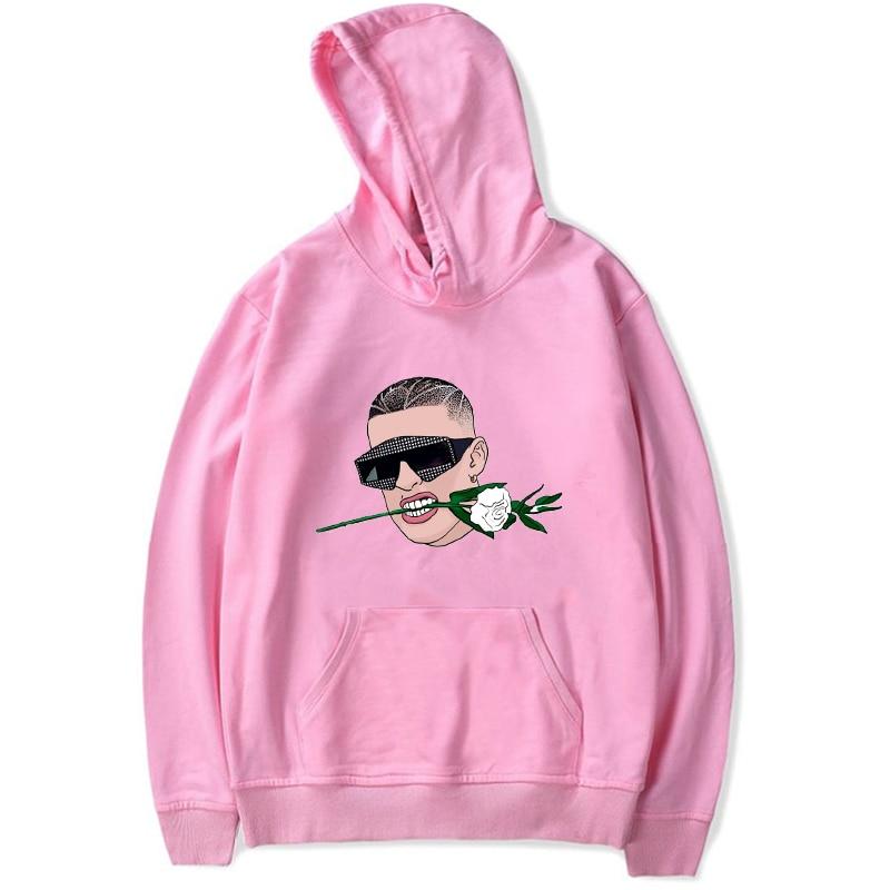 bad bunny flower hoodie bbm0108 7310 - Bad Bunny Store