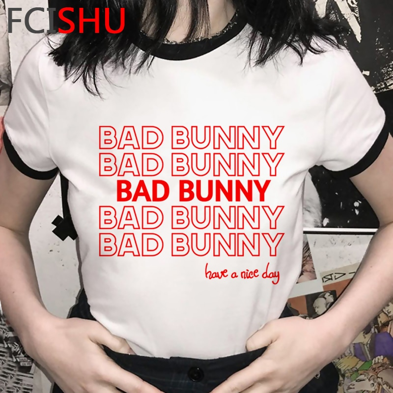 bad bunny have a nice day t shirt bbm0108 5818 - Bad Bunny Store