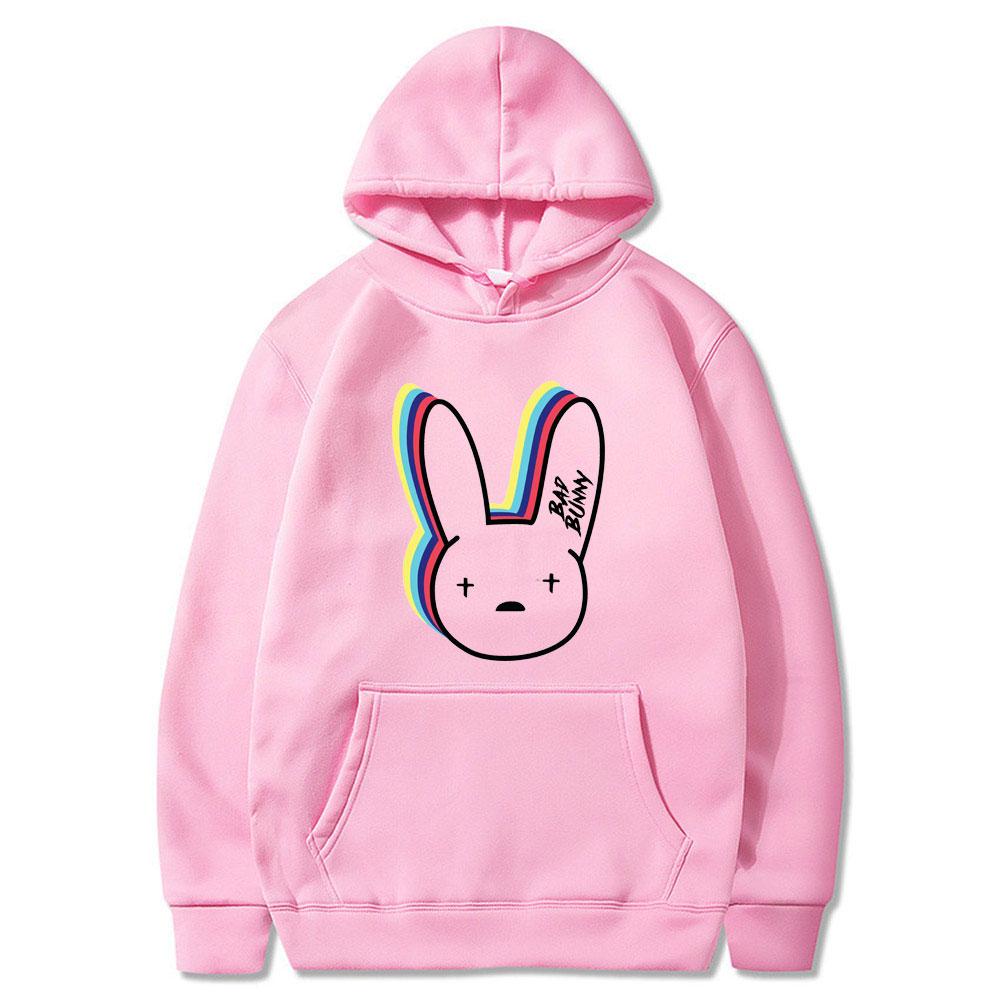 bad bunny logo hoodie bbm0108 7536 - Bad Bunny Store