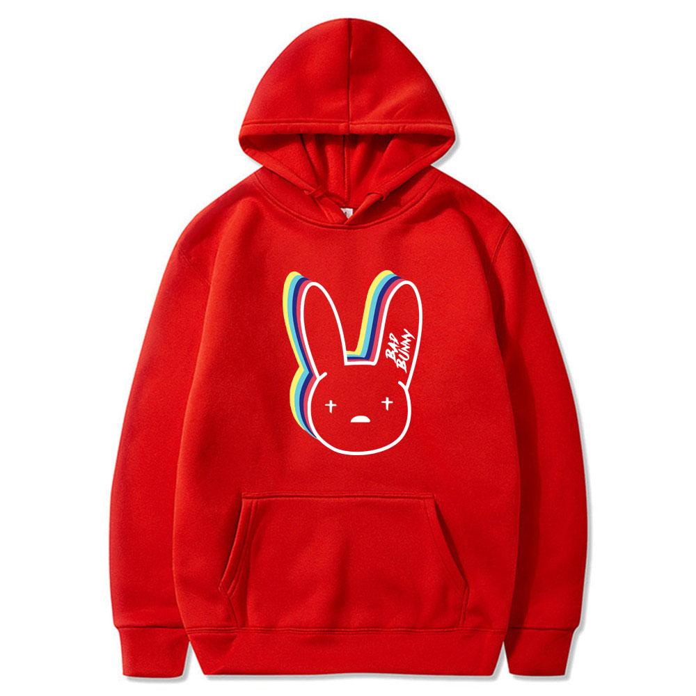 bad bunny logo hoodie bbm0108 7850 - Bad Bunny Store