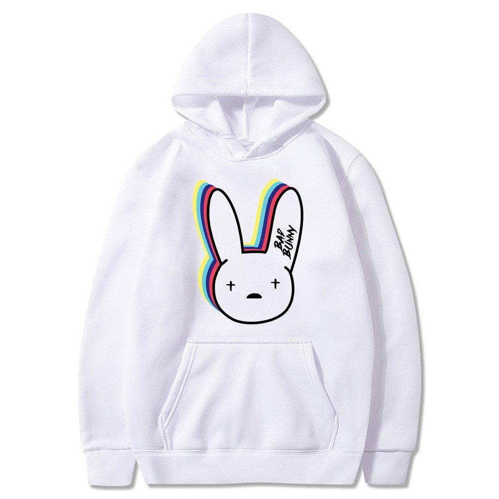 bad bunny logo hoodie bbm0108 8832 - Bad Bunny Store