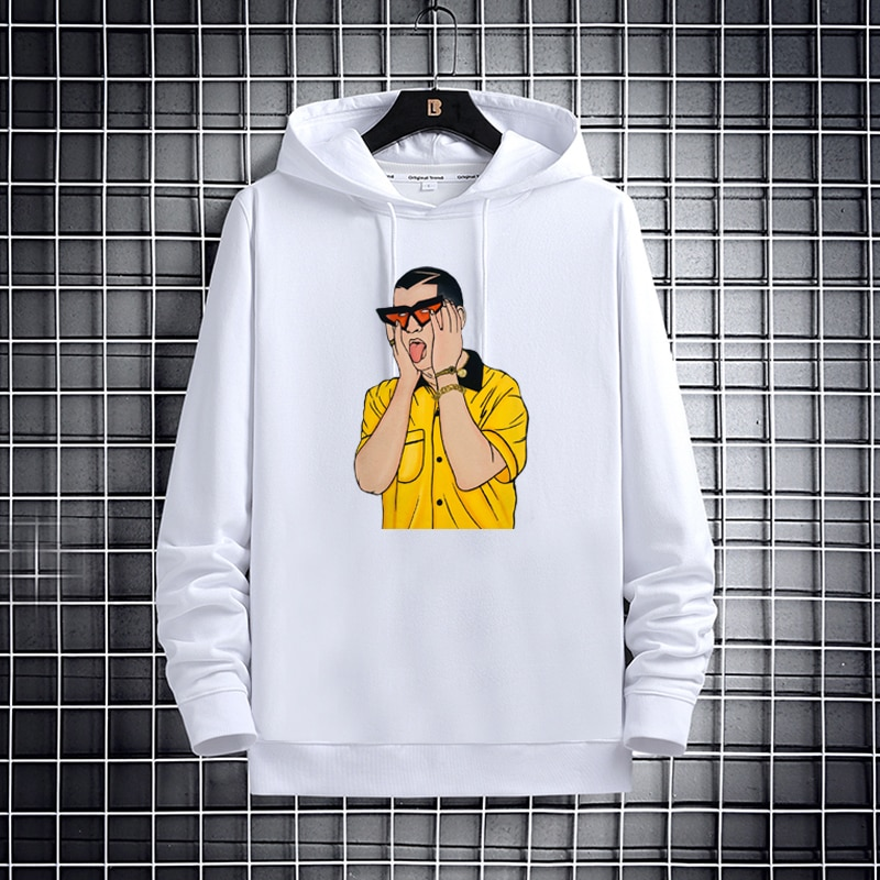 bad bunny loose casual new trend hoodie bbm0108 4787 - Bad Bunny Store