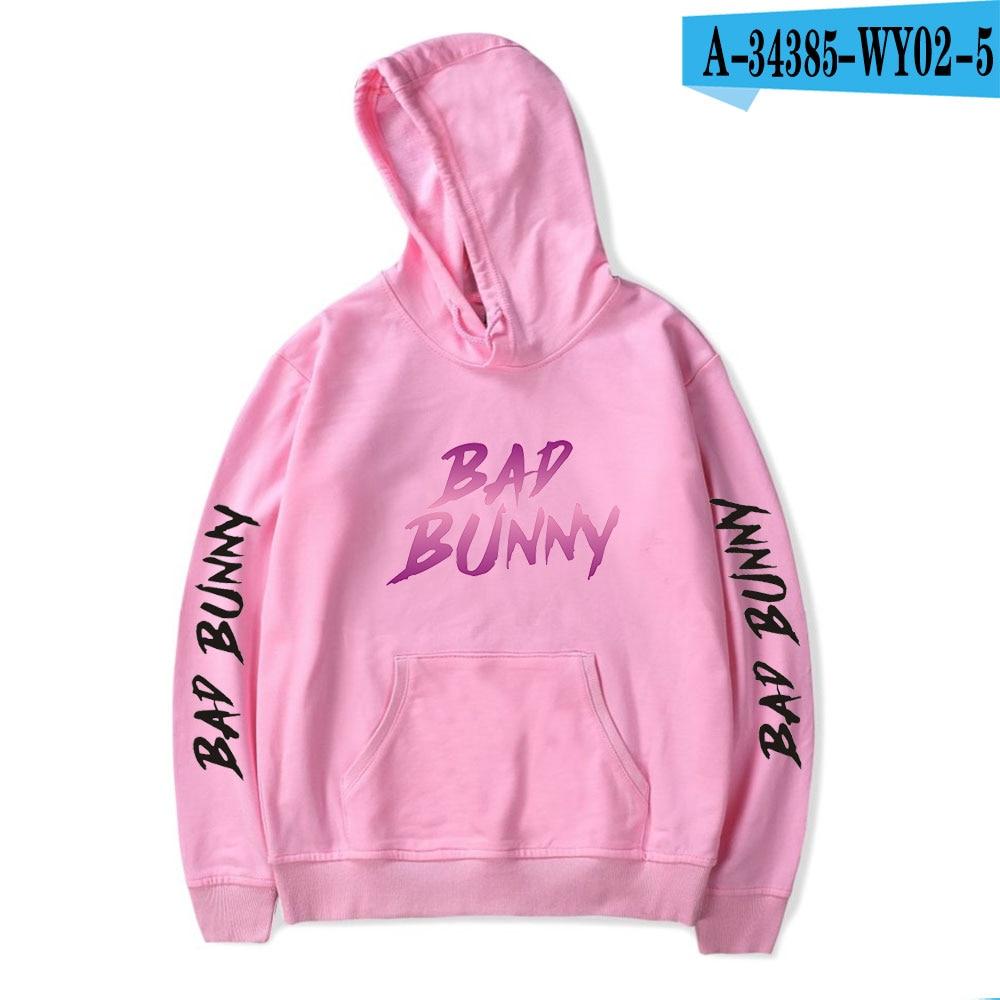bad bunny pullover hooded sweatshirt bbm0108 6138 - Bad Bunny Store