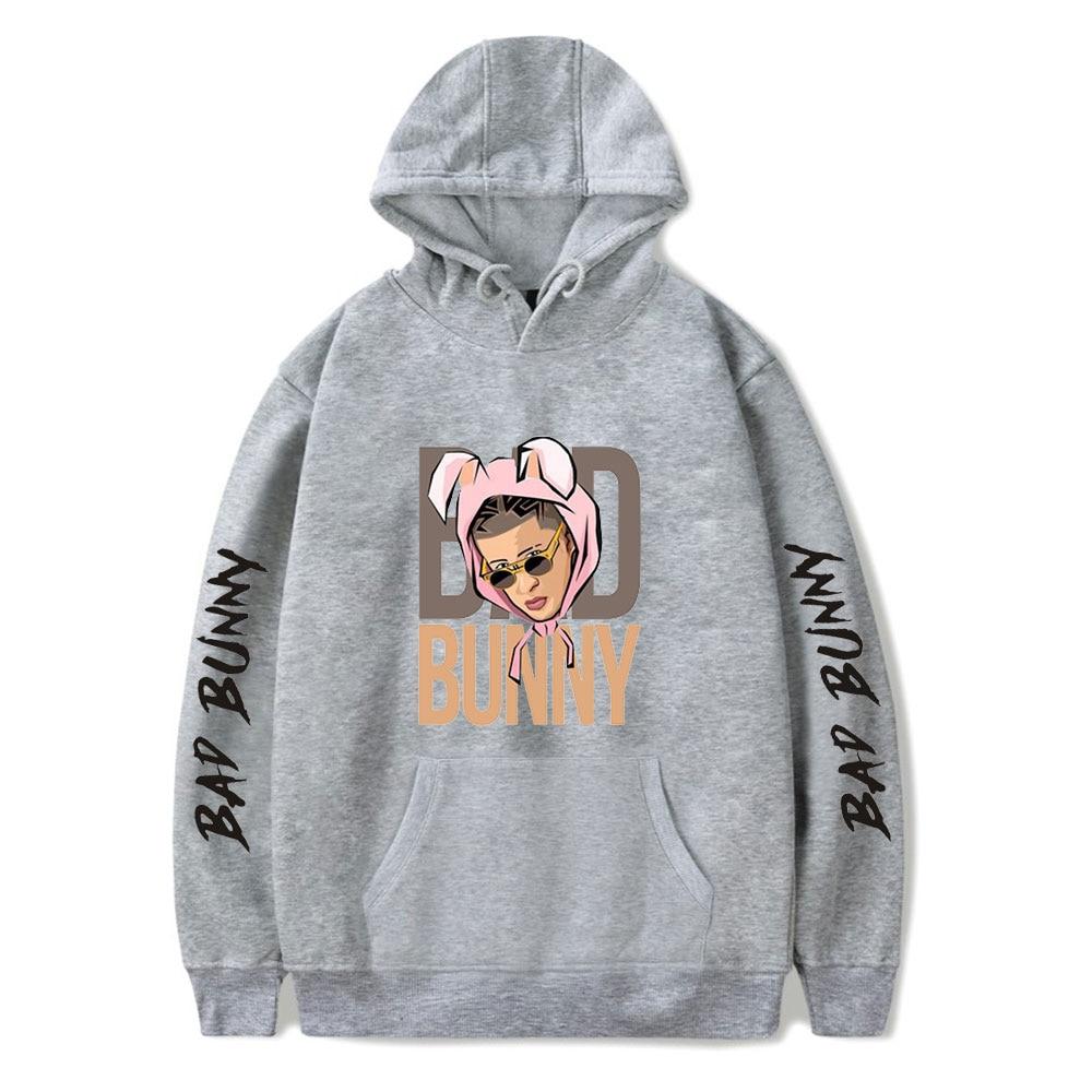 bad bunny pullover hooded sweatshirt bbm0108 6500 - Bad Bunny Store