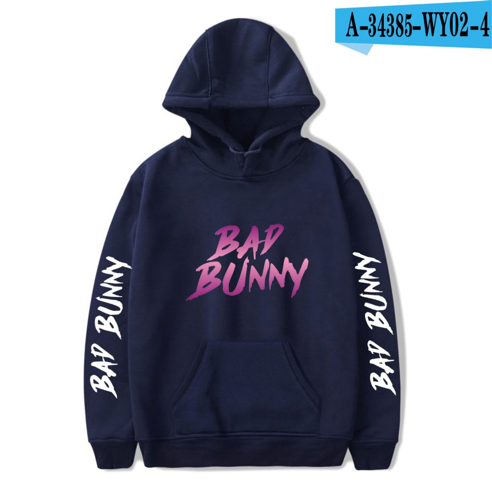 bad bunny pullover hooded sweatshirt bbm0108 8291 - Bad Bunny Store