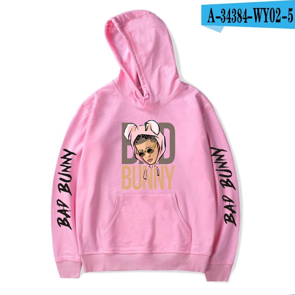 bad bunny pullover hoodie bbm0108 7387 - Bad Bunny Store