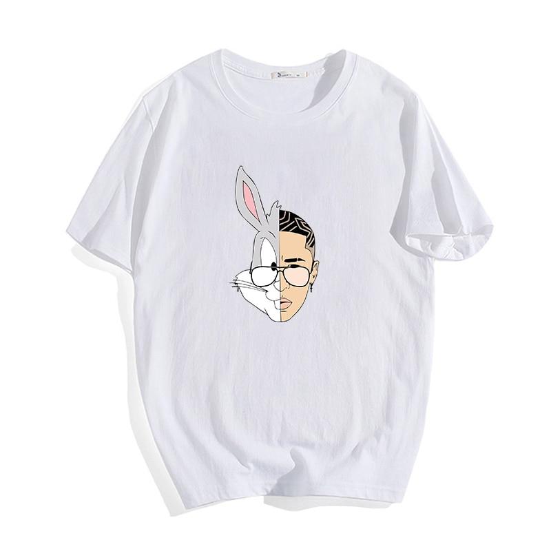 new bad bunny logo t shirt 2021 bbm0108 5237 - Bad Bunny Store